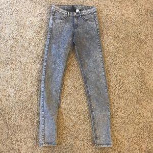 H&M high waist skinnies